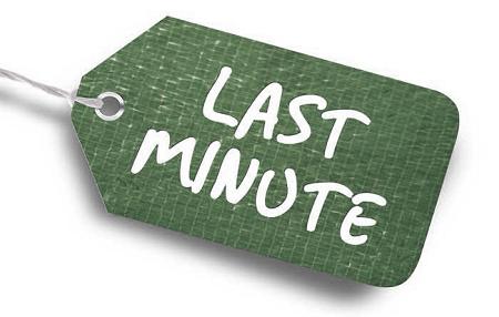 Last minute promotie!